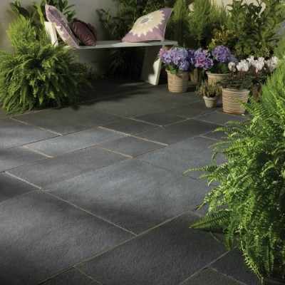 Bradstone Natural Limestone Paving Blue-Black