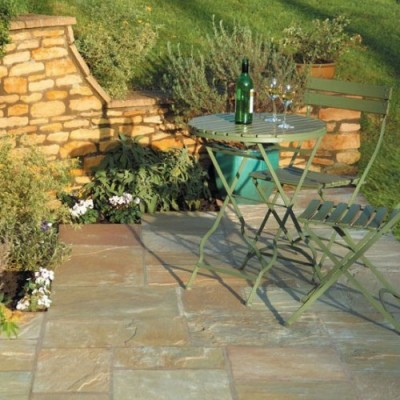 Bradstone Natural Sandstone Paving Autumn Green