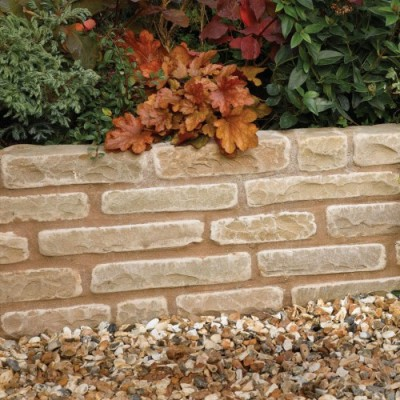 Bradstone Natural Sandstone Walling Autumn Green