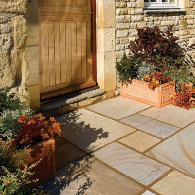 Bradstone Natural Sandstone Paving Heather Ridge