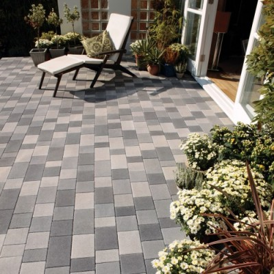 Bradstone StoneMaster Block Paving Mixed Shades Grey