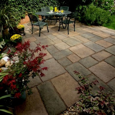 StoneFlair by Bradstone Bamburgh Mill Paving Olde Blend