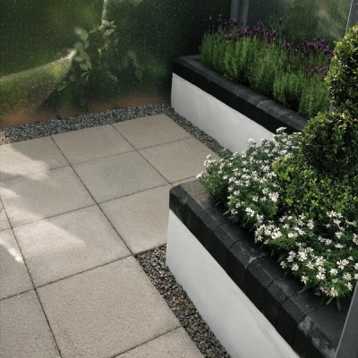 Bradstone Textured Paving Buff 600 x 600