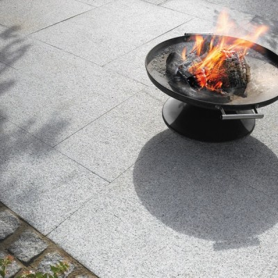 StoneFlair by Bradstone Natural Granite Paving Silver Grey 600 x 600