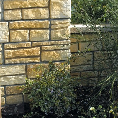 Bradstone Old Town Walling Weathered Limestone Full Block